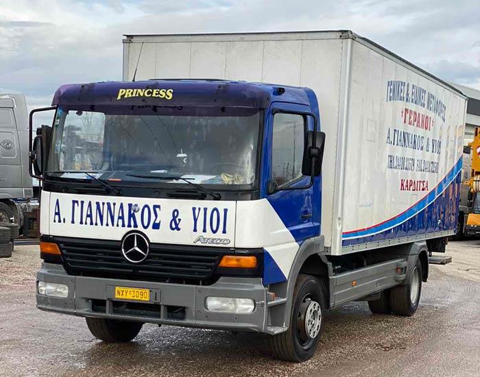 Μεταφορές - Μετακομίσεις οικοσκευών